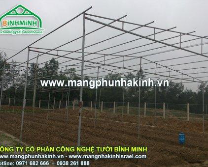 Màng nhà kính Israel, nhà màng trồng dưa lưới,trồng dưa lưới trong nhà kính, mô hình trồng dưa lưới                  tại Hà Nội